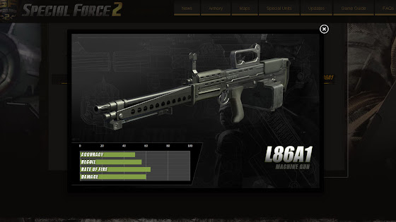 L86A1 Machine Gun