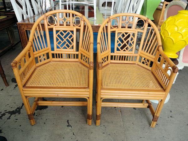 Gentil New Obsession: Rattan Barrel Chair