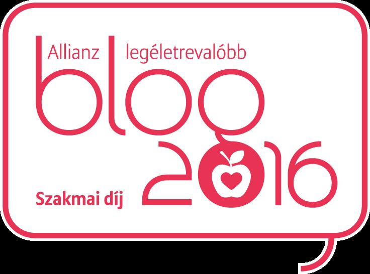 Allianz Blogverseny szakmai díj