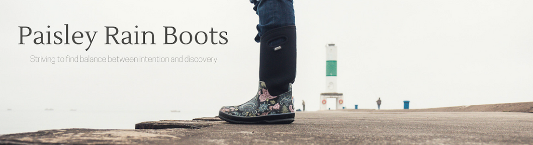 Paisley Rain Boots