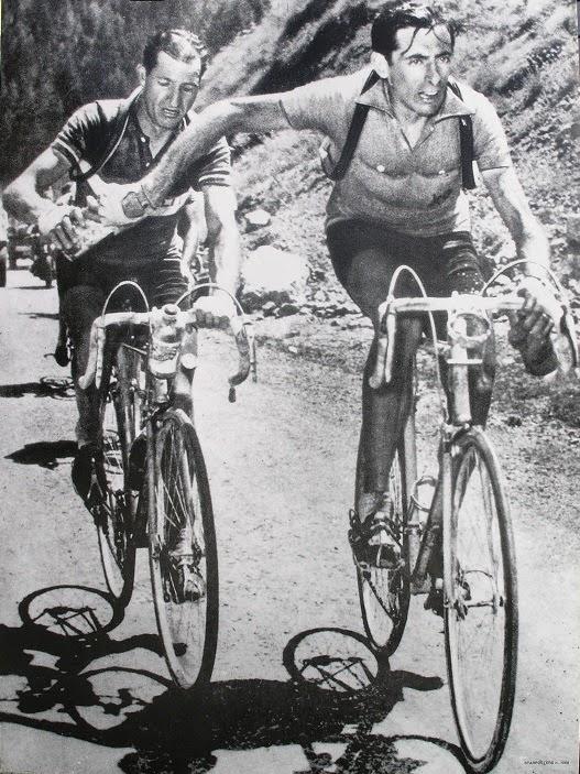 Ciclismo Clasico - COPPI - BARTALI (Bianchi-Colnago)