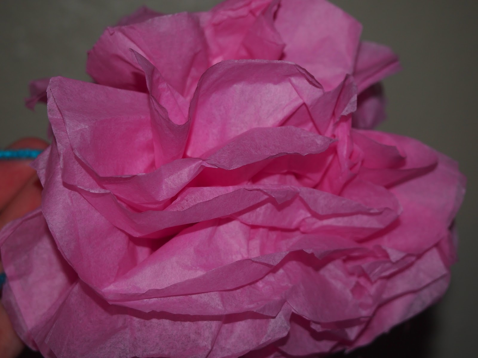 My Everyday Exceptional Mini Tissue Paper Flowers