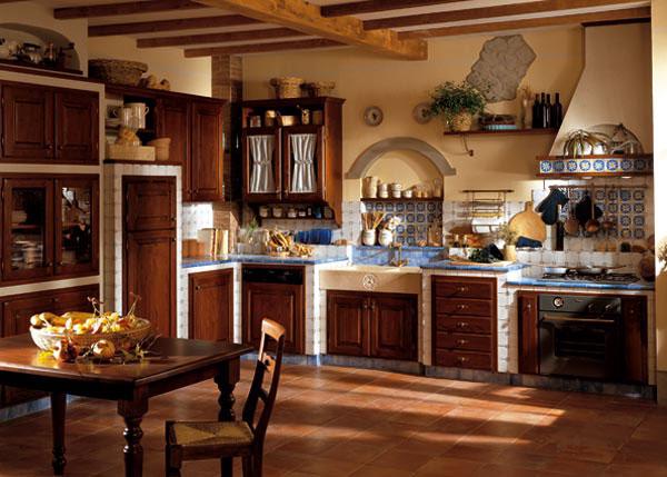 Piastrelle x cucina in muratura simple mobili da incasso per cucina muratura il progetto di - Piastrelle per cucina country ...
