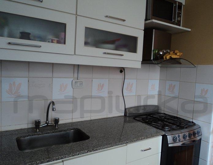 Mapiurka adhesivos decorativos ba azulejos autoadhesivos self adhesives tiles - Adhesivos cocina ...