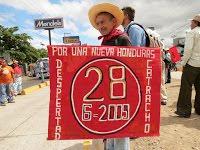 (Fotos) Resistencia hondureña conmemora sexto aniversario del brutal golpe cívico-militar