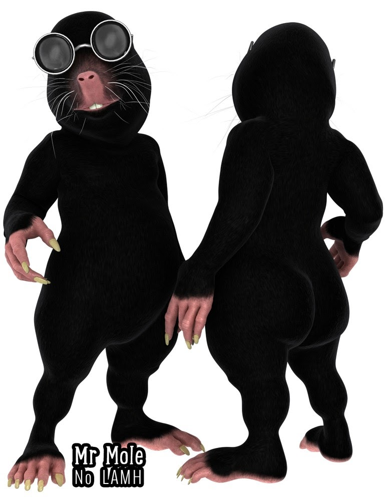 Mr Mole and the Attack of the Naked Mole Rats