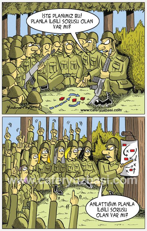 sorusu olan?-Kadinlar Asker Olursa?