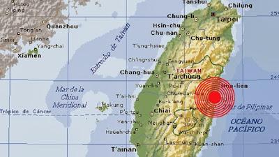 TERREMOTO 6,3 GRADOS EN TAIWAN, 31 DE OCTUBRE 2013