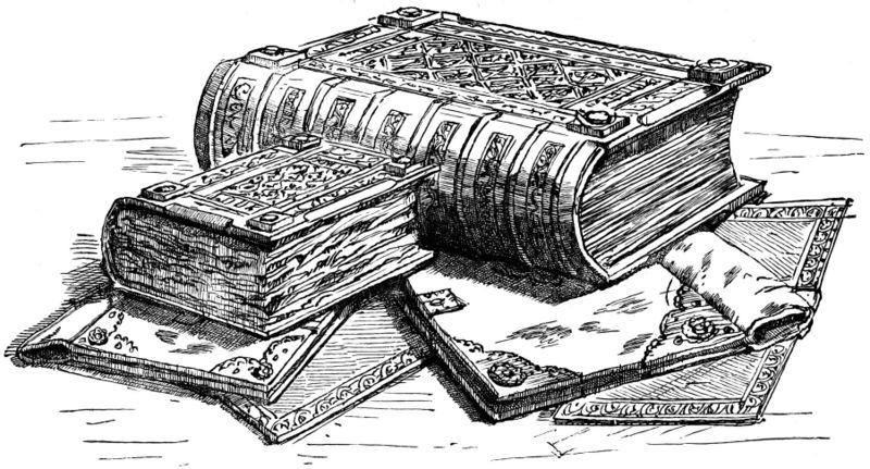 Book Cover Art Copyright : Pinto dibujos libro antiguo para colorear