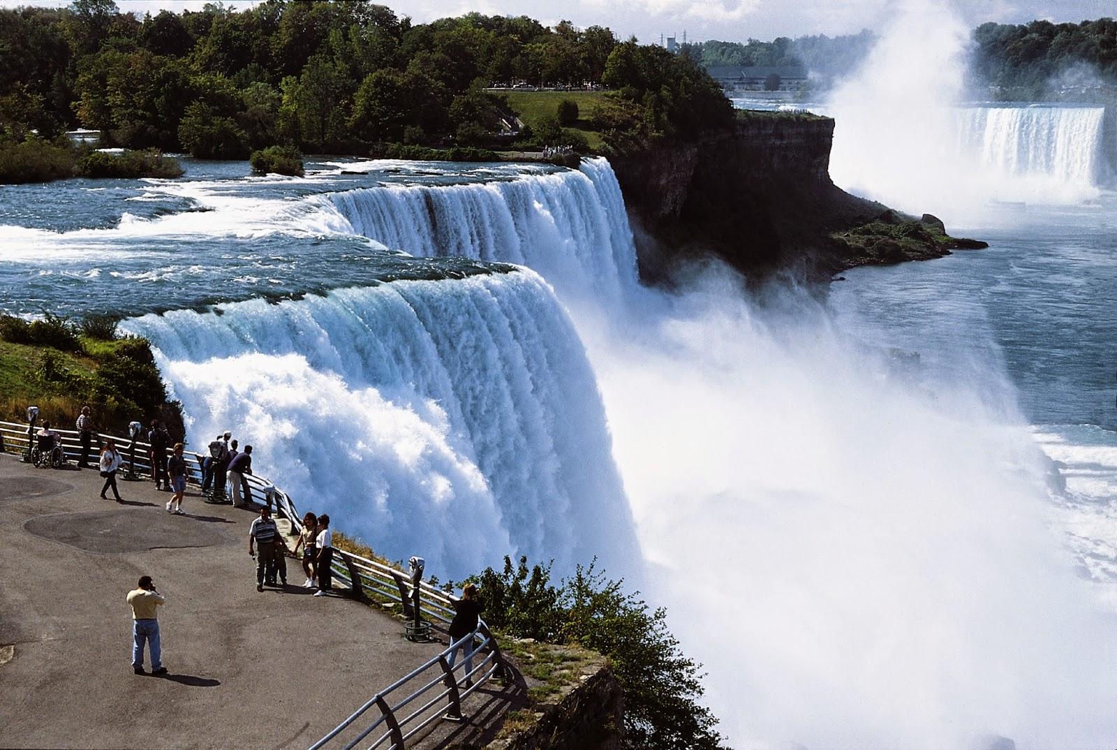 شلالات نياجرا في كندا ! Niagara Falls
