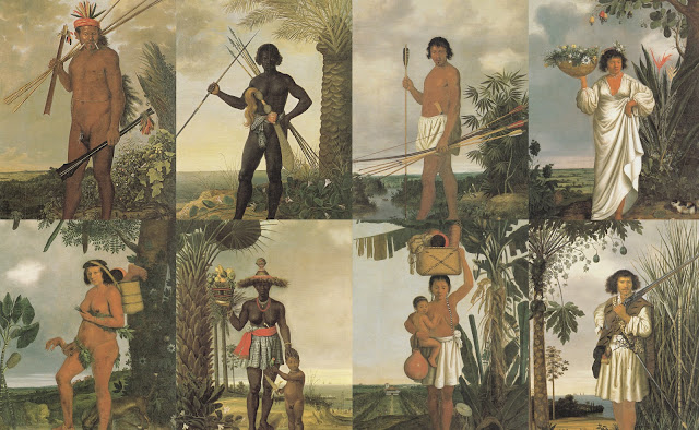 Native Painting, Native American,Brazil
