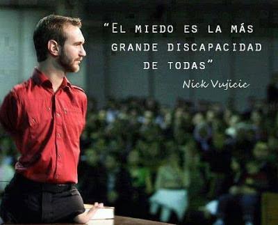 Frase de Nick Vujicic