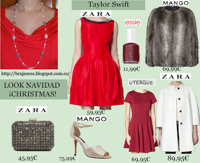 Taylor Swift look red dress hotel london christmas as seen on visto en famosa abrigo clunch Natural Genuine honey cream Agate Sterling Silver 925 necklace beads, long 32""