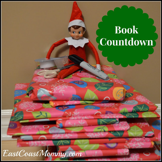 east coast mommy elf on the shelf book countdown. Black Bedroom Furniture Sets. Home Design Ideas