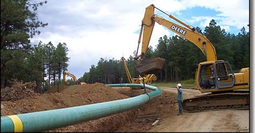 Natural Gas Pipeline Installation : Enviropolitics nj pinelands gas pipeline touted