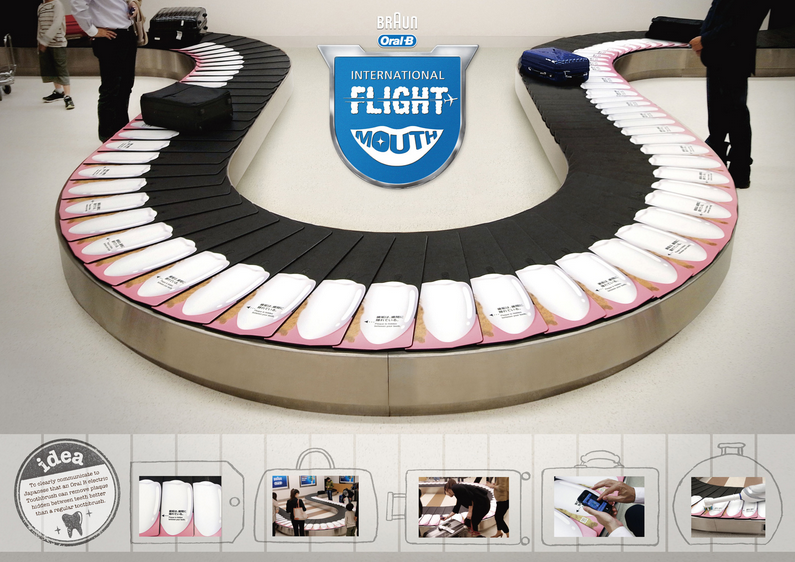 Homadge the copysumo blog oral b international flight for Advertising agency tokyo