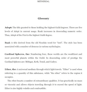 Sci-fi Glossary