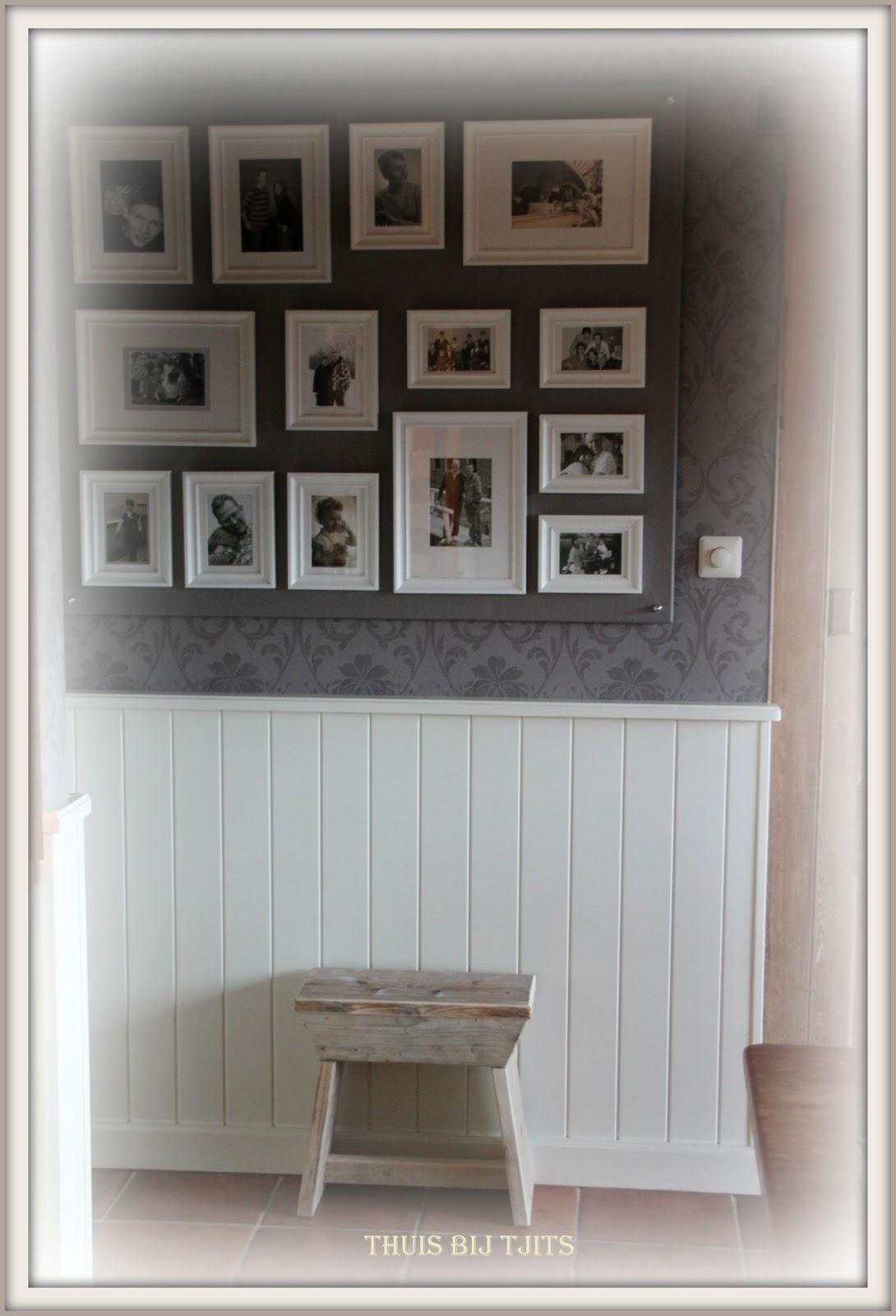 thuis bij tjits nieuwe fotowand. Black Bedroom Furniture Sets. Home Design Ideas