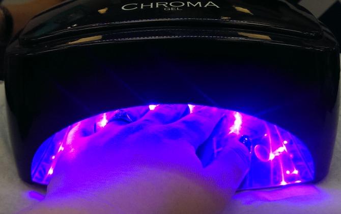 Nails under the UV light