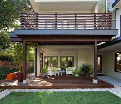 Fotos de terrazas terrazas y jardines terrazas de casa for Modelos de casas con terrazas modernas