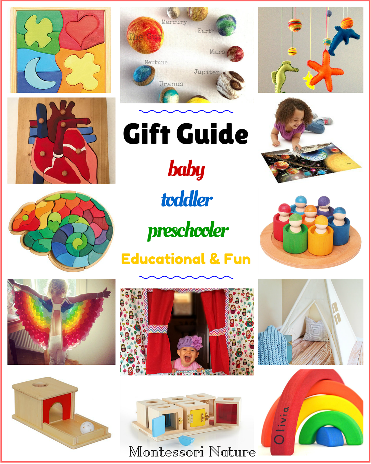 Unique gifts for one year olds