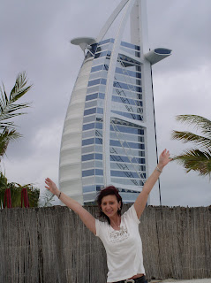 vor dem Burj Al Arab 2006