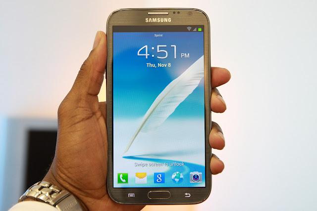 Galaxy Note III leaked image