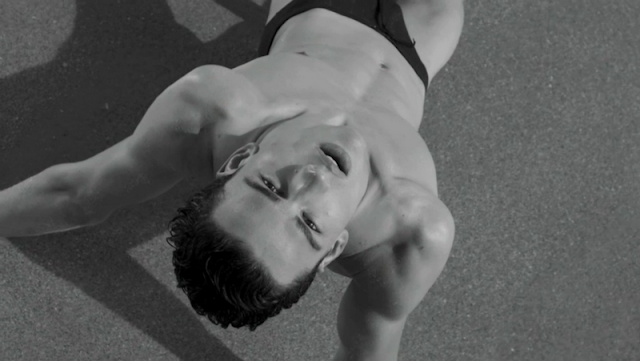 Bruce Weber Film 'Wet & Wild' for Giorgio Armani featuring Simon Nessman