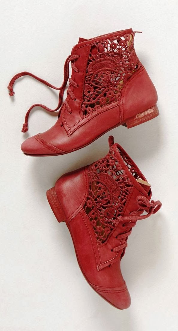 Adorable Irene Lace Booties Fashion Trend
