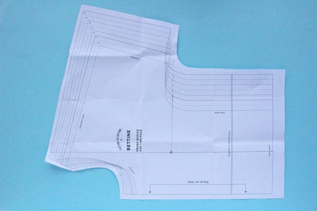 Fitting the Bettine dress sewing pattern