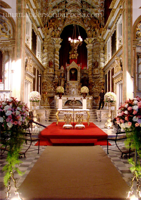 Anderson Barbosa Casamento  Igreja Madre de Deus  Recife Antigo