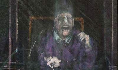 Francis Bacon 'screaming pope'
