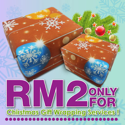 M3Shoppe Christmas Gift Wrapping Service