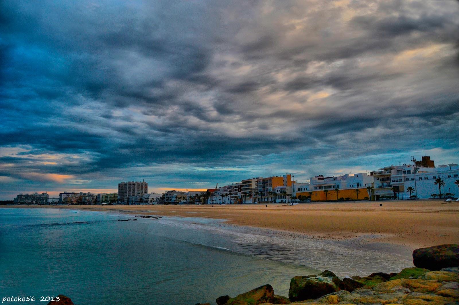 La playa de la Costilla Rota