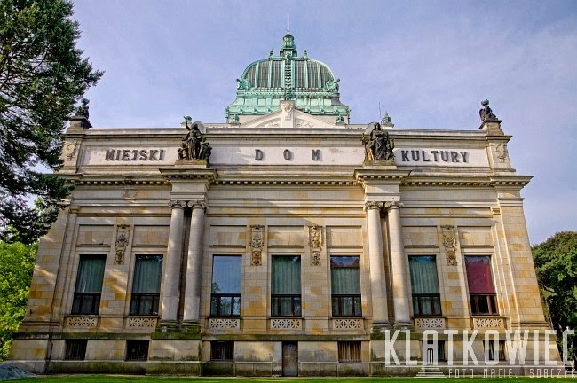 Zgorzelec Görlitz. Miejski Dom Kultury. Kaiser Fridrich Museum.