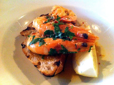 Stitch and Bear - San Lorenzos - Pan-fried prawns