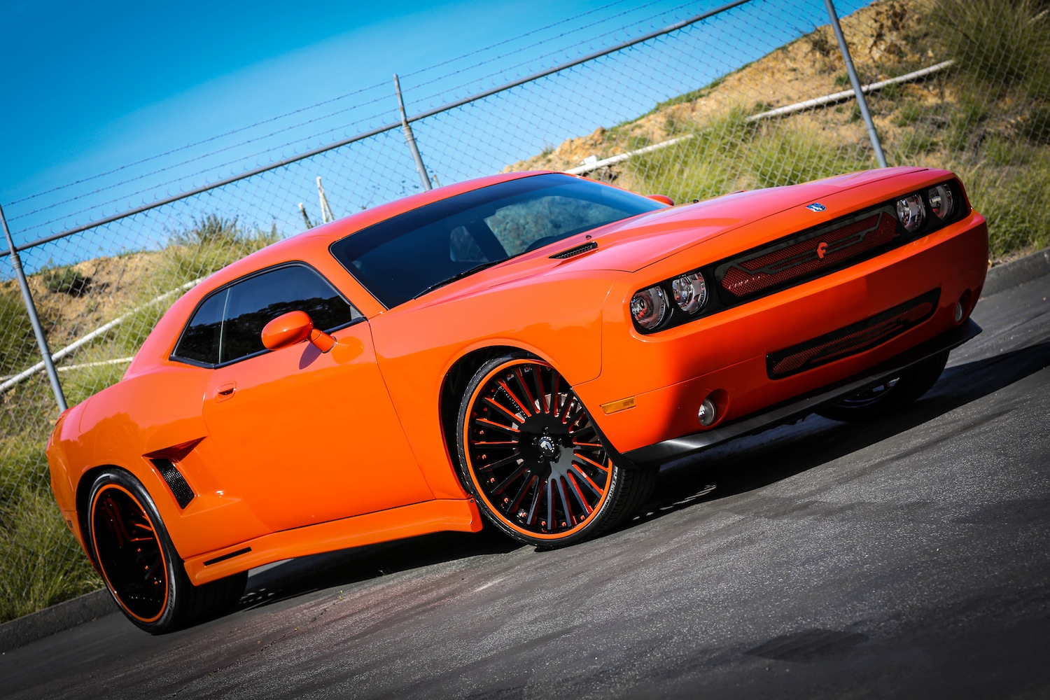 widebody dodge challenger on forgiato wheels. Cars Review. Best American Auto & Cars Review