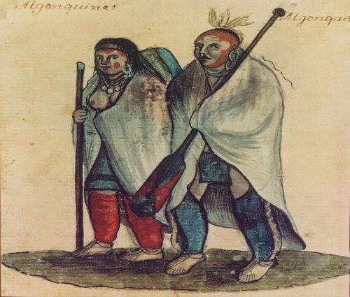 Painting FIW Algonquin Indians picture 1