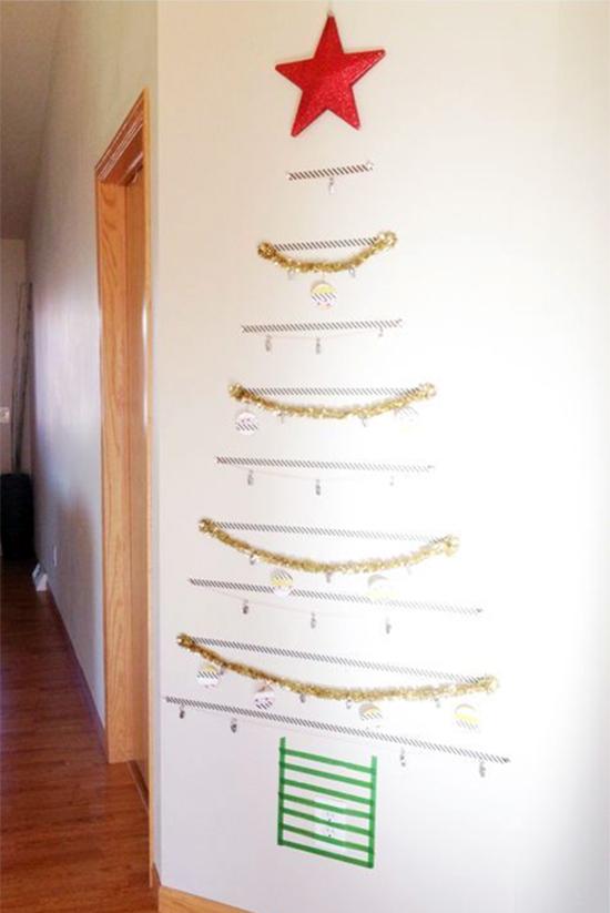 arvore de natal, christmas tree, faça você mesmo, diy, christmas, natal, árvore criativa, árvore natal moderna, arvore washi tape