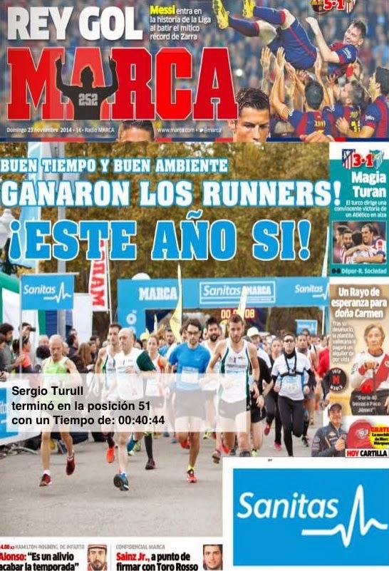 10k sanitas marca running series sergio