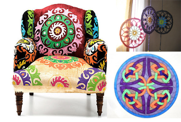 Barquitec decorar con mandalas for Crear muebles 3d
