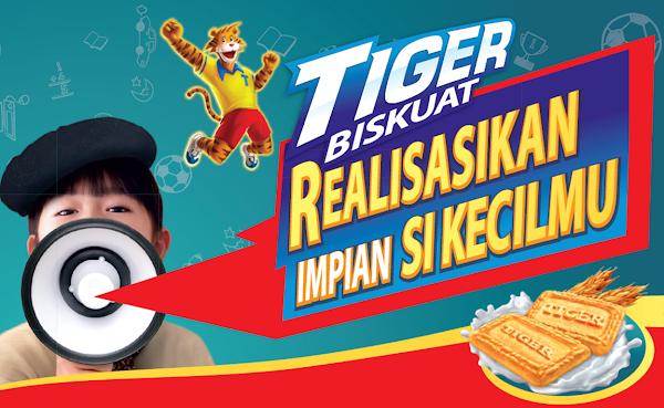 Peraduan Tiger Biskuat 'Realisasikan Impian Si Kecilmu'