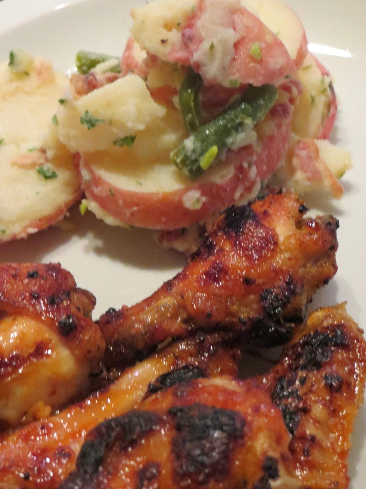 Simply LKJ: Spicy Sriracha Chicken Wings Recipe + a Side Dish~