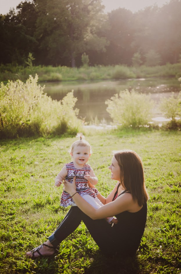 Mommy and me session by indianapolis natural light family photographer.