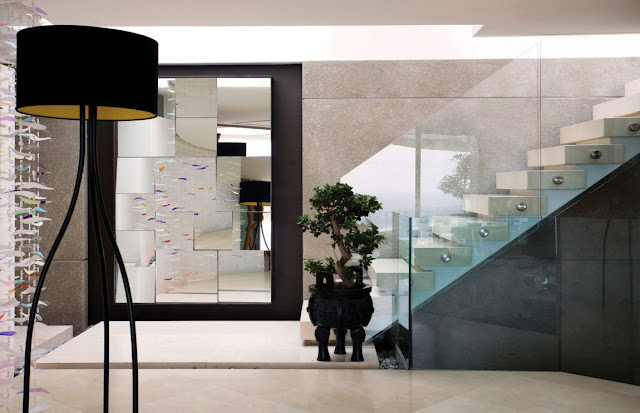 Picture of modern hallway interiors