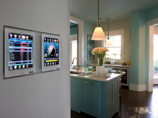 Modern furniture 2013 hgtv smart home kitchen pictures for Whole house heating systems