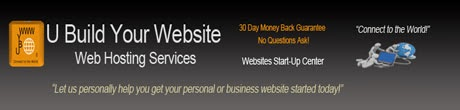U Build Your Website    Web Hosting Services Blog Page