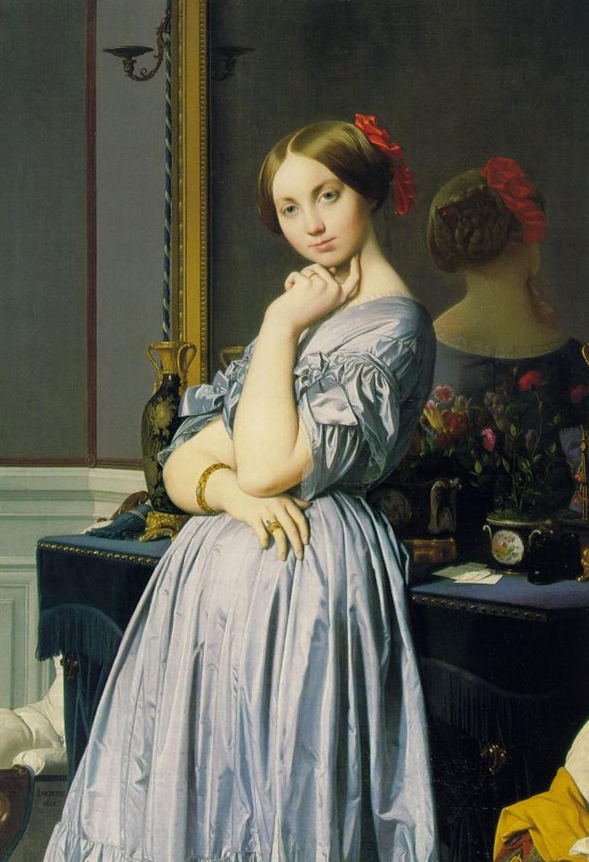 Jean Auguste Dominique Ingres Louise de Broglie Comtesse d'Haussonville