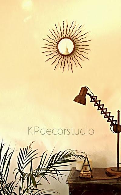 Espejo sol antiguos