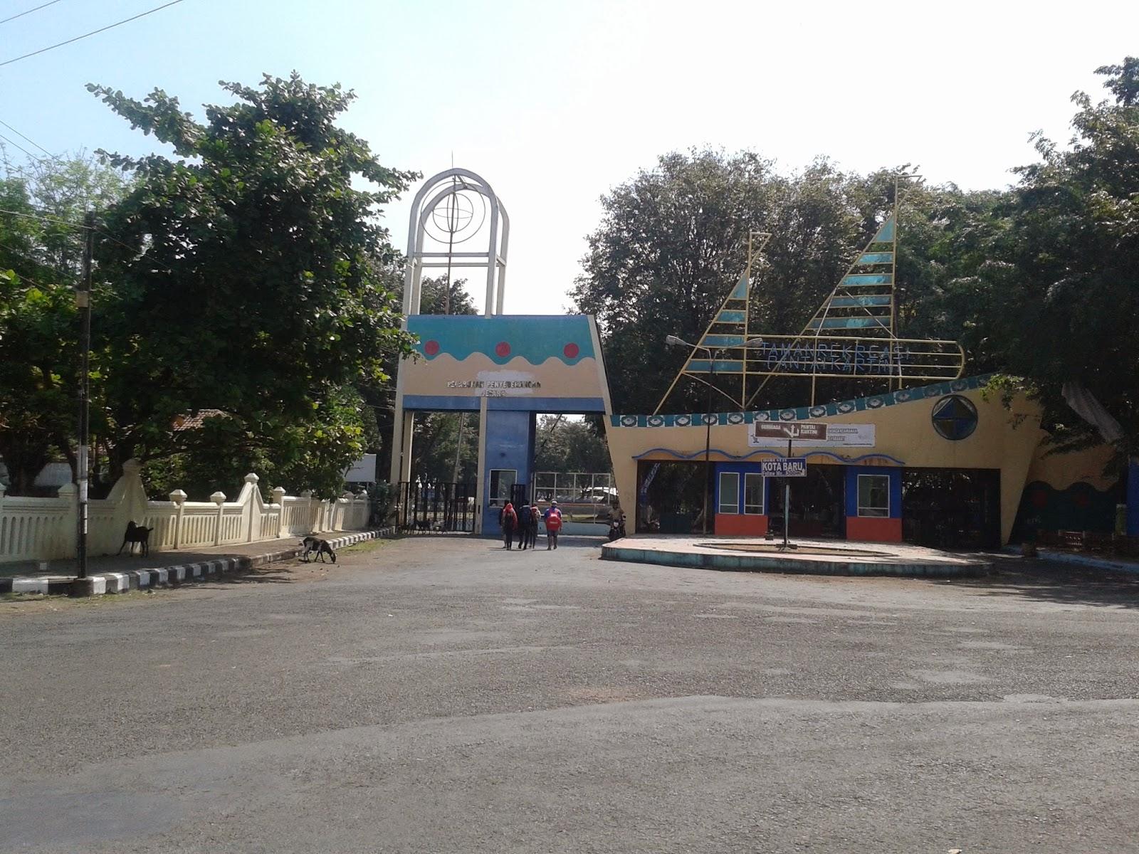 Pintu gerbang Pantai Kartini